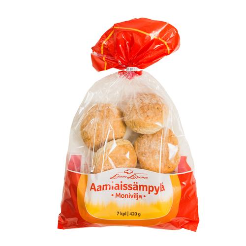 Aamiaissämpylä Monivilja 7 kpl/pss