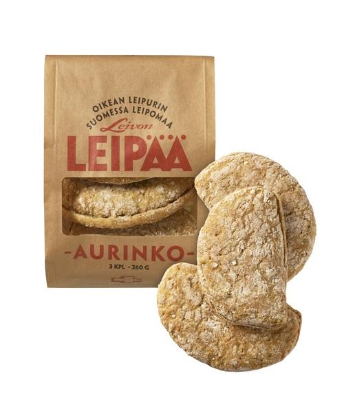 Leivon Leipää AURINKO 3 kpl /pss