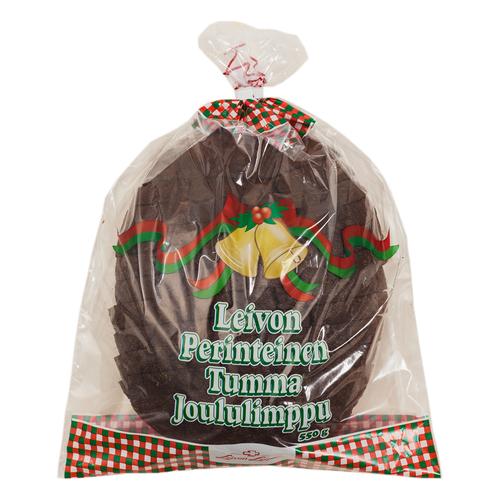 Leivon Perinteinen Tumma Joululimppu
