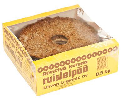 Leivon Revitty kuiva leipä